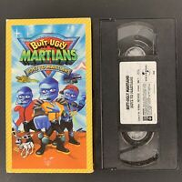 Butt-Ugly Martians: Boyz to Martians (VHS, 2002) Tested Plays Great!