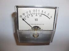 Vintage Ideal Precision Meter Co. VU Meter