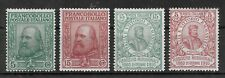 ITALY 1910 Mint Hinged/LH Complete Set of 4 Stamps Sass #87-90 CV €600