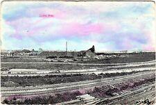 Old Photo Postcard Clark Mine Oliver Iron Mining Mesabi Range St Louis Co c1908