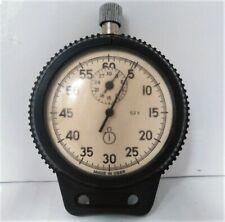 Vintage Soviet USSR Mechanical Pocket Stopwatch Made in USSR AGAT