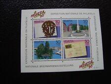 SUISSE - timbre yvert et tellier bloc n° 26 nsg (Z14) stamp zwitzerland