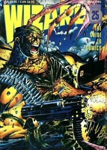 Wizard: The Guide to Comics September 1993 -Number 25 - With Deathblow Poster