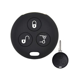 For Smart Fortwo City Roadster Forfour Silicone Key Cover Fob Remote Case Holder