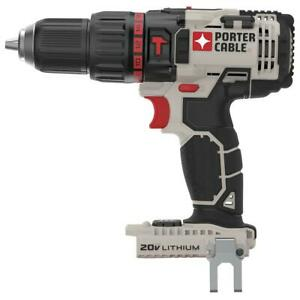 Porter Cable PCC620B 20V MAX Bare Hammer Drill, Tool Only
