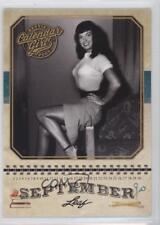 2014 Leaf Calendar Girl #CG9 Bettie Page (September) Non-Sports Card 0h2