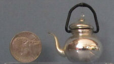 U.S.ZONE GERMANY ANTIQUE MINIATURE * TINY TEA POT, BLOWN MERCURY GLASS *SALE* T5