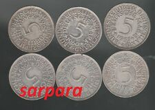 Silber 5 DM Wählen Sie ab 1965 bis 1974  und DFGJ - ab 5 stück portofrei
