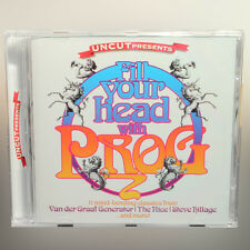 Uncut - Fill Your Head With Prog - The Rice, Wigwam, White Noise etc - music cd