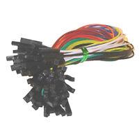 40pcs Female to Female 2.54mm 0.1 in Jumper Wires F/F N3