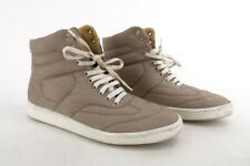 MAISON MARTIN MARGIELA MM6 High Top Sneakers Leather Nylon Quilted Beige Size 9