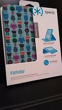 Speck Fitfolio Case for Apple iPad 2/3/4 Generations Flower Owl/Blue/Purple