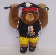 """Steve Austin""  WWF Cuddletown Friends Plush Bear 14"" Action Figure WCW WWE{670}"