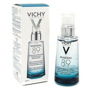 Vichy Mineral 89 Serum 30ml, Fortifying & Plumping Daily Booster Hydration, New