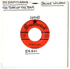 "N/SOUL.JACKIE WILSON.MY EMPTY ARMS / THE TEAR OF THE YEAR.U.S.ORIG 7"".VG+"