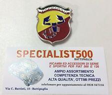 FIAT   500 -126  FREGIO SMALTATO PER MASCHERINA SCORPIONE TRI.