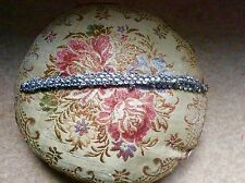 Asian. Silver And Diamonte Anklet X 2