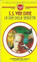 La dea della vendetta - Van dine - newton - il giallo economico classico 9 -