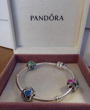 Pandora Disney Nuovo Originale Argento Aurora's fata madrina Charm 791923 ENMX