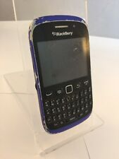 Scuffed Blackberry Curve 9320 O2 Blue Mobile Phone