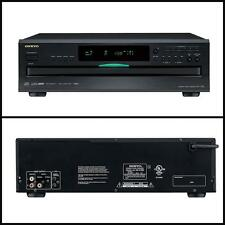 Onkyo DXC390 6-Disc Aluminum Remote Interactive CD Carousel Changer Player