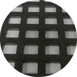 Mild Steel Perforated Sheet 2m x 1m x 3mm C10 U15 Bin 27 - 500130222