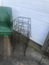 1 Vintage Wrought Iron Hairpin Plant Stand Plant Pot Holder MidCentury