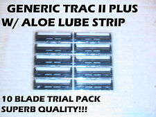 Gillette Trac II  Generic Blades - 10 Blade Trial Pack