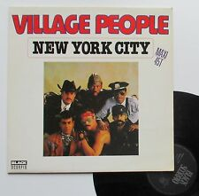 "Vinyle maxi Village People  ""New York city"""