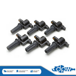 Set of 6 Ignition Coil Packs Fits Jaguar S-Type Petrol Saloon 3.0 V6 1999-2002