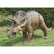 New listing Ne100048 - Jurassic-Sized Triceratops Dinosaur Statue - 14' Long!