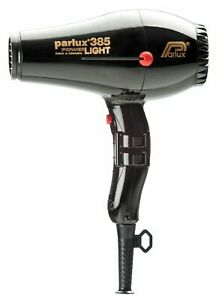 Parlux 385 Power Light Ionic Ceramic Hairdryer Black