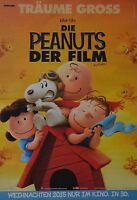 DIE PEANUTS - A3 Poster (ca. 42 x 28 cm) - Film Plakat Snoopy Clippings NEU