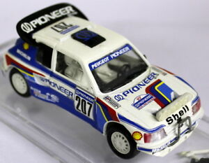 Vitesse 1/43 Scale - 304 Peugeot 205 T16 Paris Dakar Rally '88 Diecast Model Car