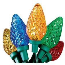 Home Accents 50 C9 Color Changing Lights LED Faceted New