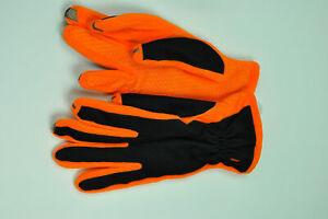 Ladies Isotoner Smartouch Screen Comp Gloves Orange or Violet w/Black MSRP $44