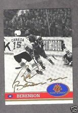 1972 Team Canada Red Berenson Autographed Card