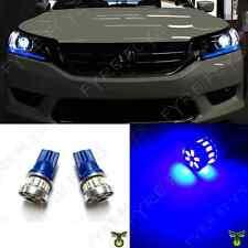 2 Super Blue LED Lights Headlight Strip Bulbs for 2013 - 2015 Accord #Q7B