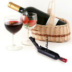 Stainless Steel Cork Screw Corkscrew MultiFunction Wine Bottle Cap Opener New