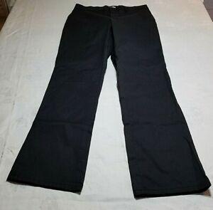 Women's DICKIES  Size 6R Straight Leg  Black Work Pants
