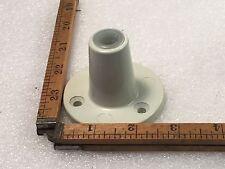 One Vintage Grey 1970s Ledu Swing Arm Lamp Base Top Screw On Type