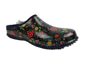 Western Chief Women's Garden Strawberries Red Mules Clogs Size 6 US