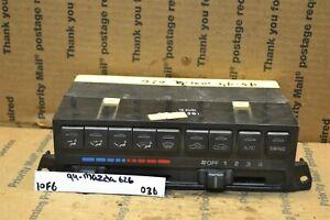 93-94 Mazda 626 Ac Heater Temperature Climate Control Bx 4 036-10F6