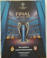 2016 Champions League Finale Programmheft Final matchprogramm REAL MADRID Ticket
