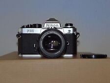 Nikon FE2 Camera with Nikon Nikkor 50mm 1:1.4 Lens