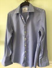 Charles Tyrwhitt Non Iron Extra Slim Fit 15.5 check shirt regular sleeve