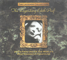 The Legendary Edith Piaf - Legends Collection (2 CDs, 2002) Enigmatic Chanteuse