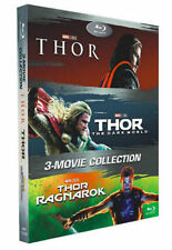 THOR 3-Movie Collection [Blu-ray Box Set] 1-3:  Thor, Dark World, Ragnarok - NEW