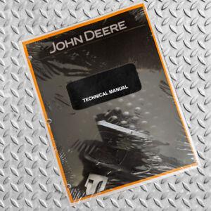 John Deere 75G Mini Excavator Technical Service Repair Manual - TM12876