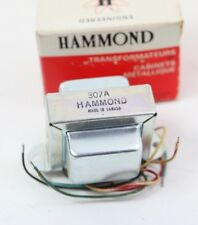 Hammond Audio Transformer 307A 125-500 Ohm